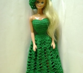 Kathys barbie dress no 2