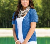 Lacy Little Cardigan no 5 cotton annies