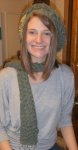 Mary Jeans hat and scarf