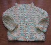 craftymadwomans lazy ribbed baby sweater ravelry