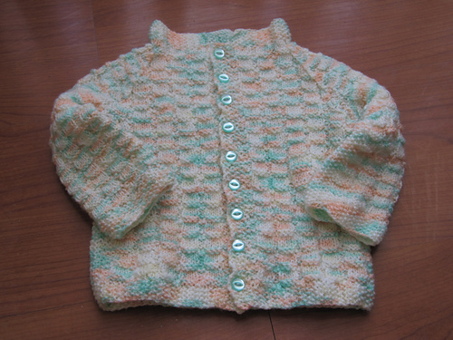 craftymadwomans lazy ribbed baby sweater ravelry