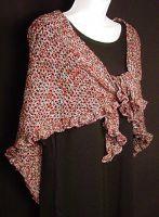 Chic Brilliante xmas shawl