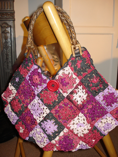 paolapizano crochet bag ravelry dalia
