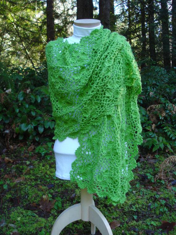 Nancys escarsha shawl