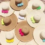 marisa omegacryl pompom hat