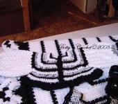 Bettys Black & white Sweater Top