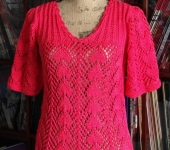 Lace of Spades Pullover