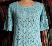 shell lace pullover sinfonia