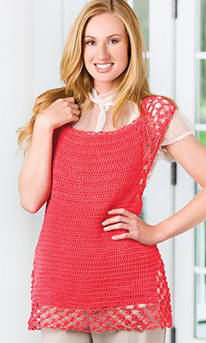 isla tunic crochet magazine