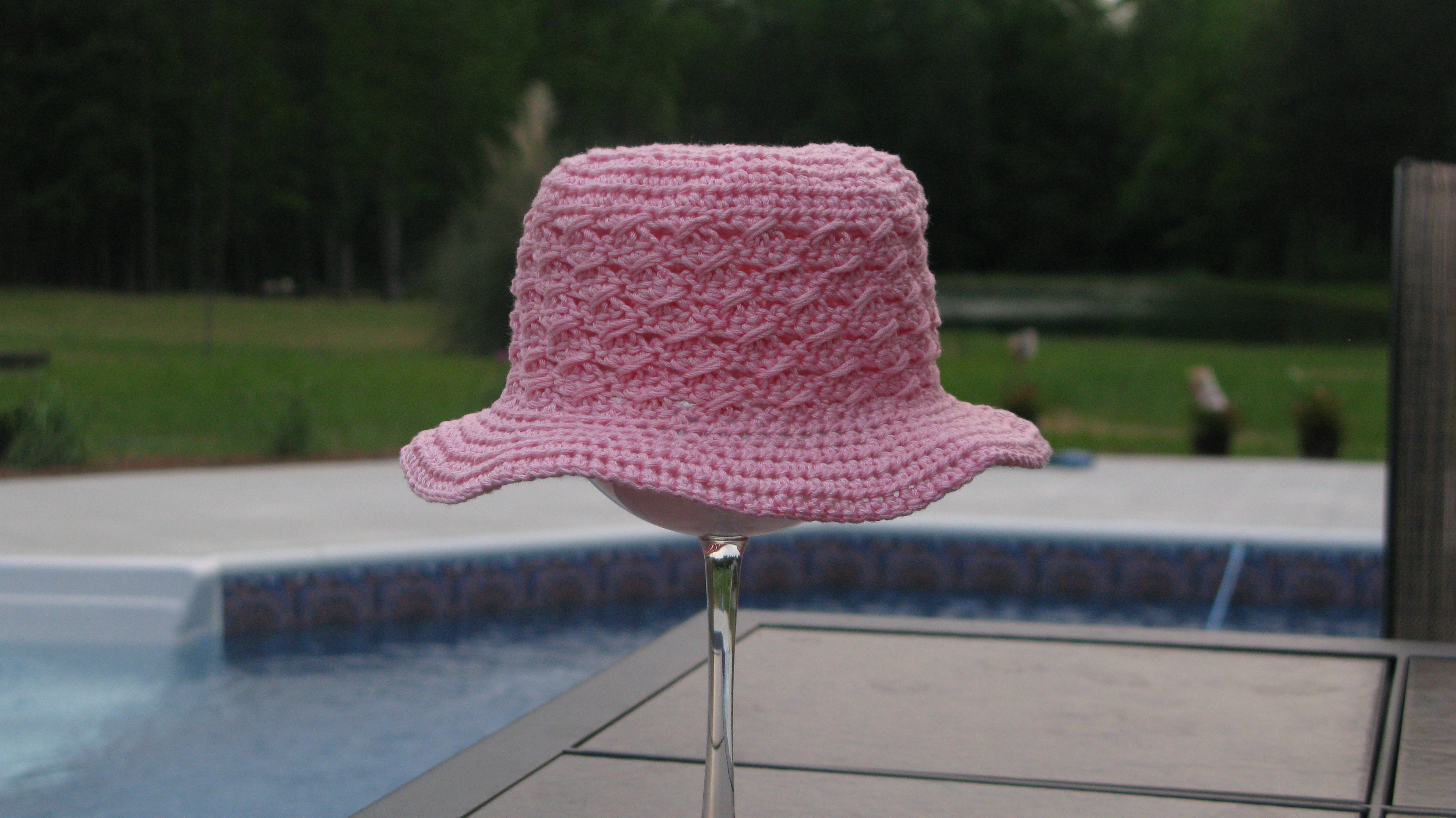 kathy sinfonia Mini Summer Beach Hat