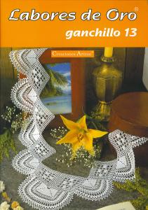 labores de oro Ganchillo 13