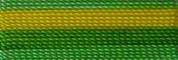 53 multi green/yellow