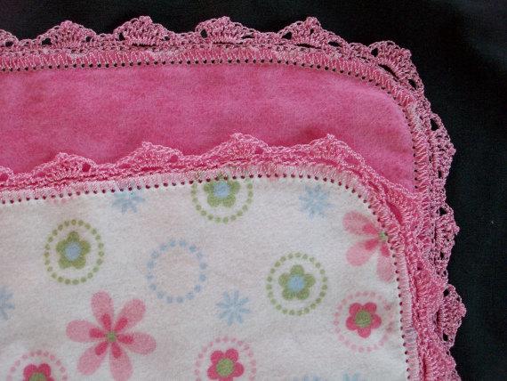 Baby Blanket with 2 nylon trim