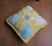 mrskarins granny square cushion ravelry