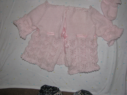 tophats peachy baby sweater ravelry