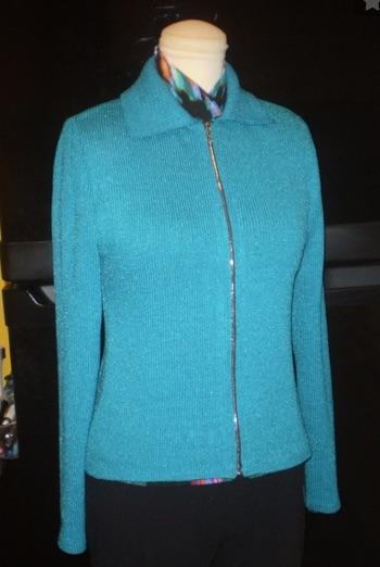nancy diamante sweater