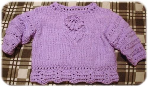 Elisols baby sweater