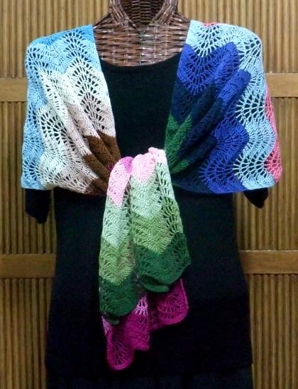 rainbow shawl alt2