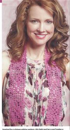 scarf crochetworld 2014 laperla