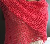 Lynn mimosa shawl