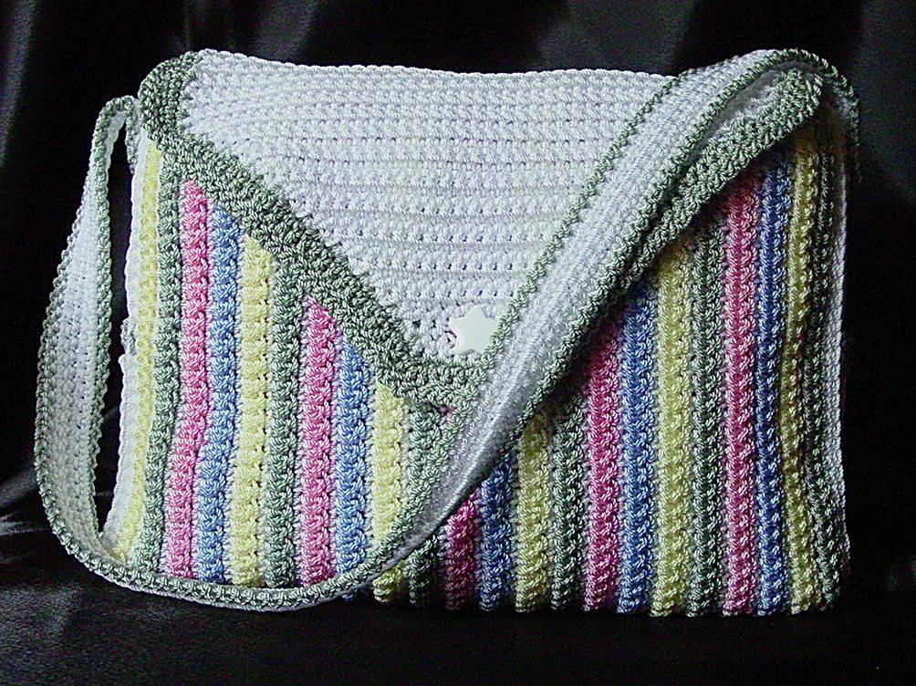 Free Crochet Patterns For Baby Bags Pakbit For