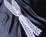scarf white nylon