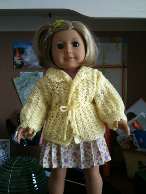 Beverooni1s OmegaCrys Daffodil Dolly Sweater