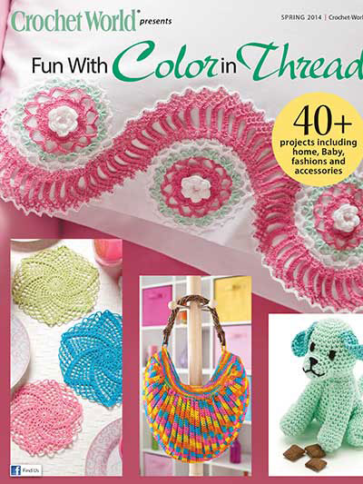 crochet world spec issue spr 2014 color in thread