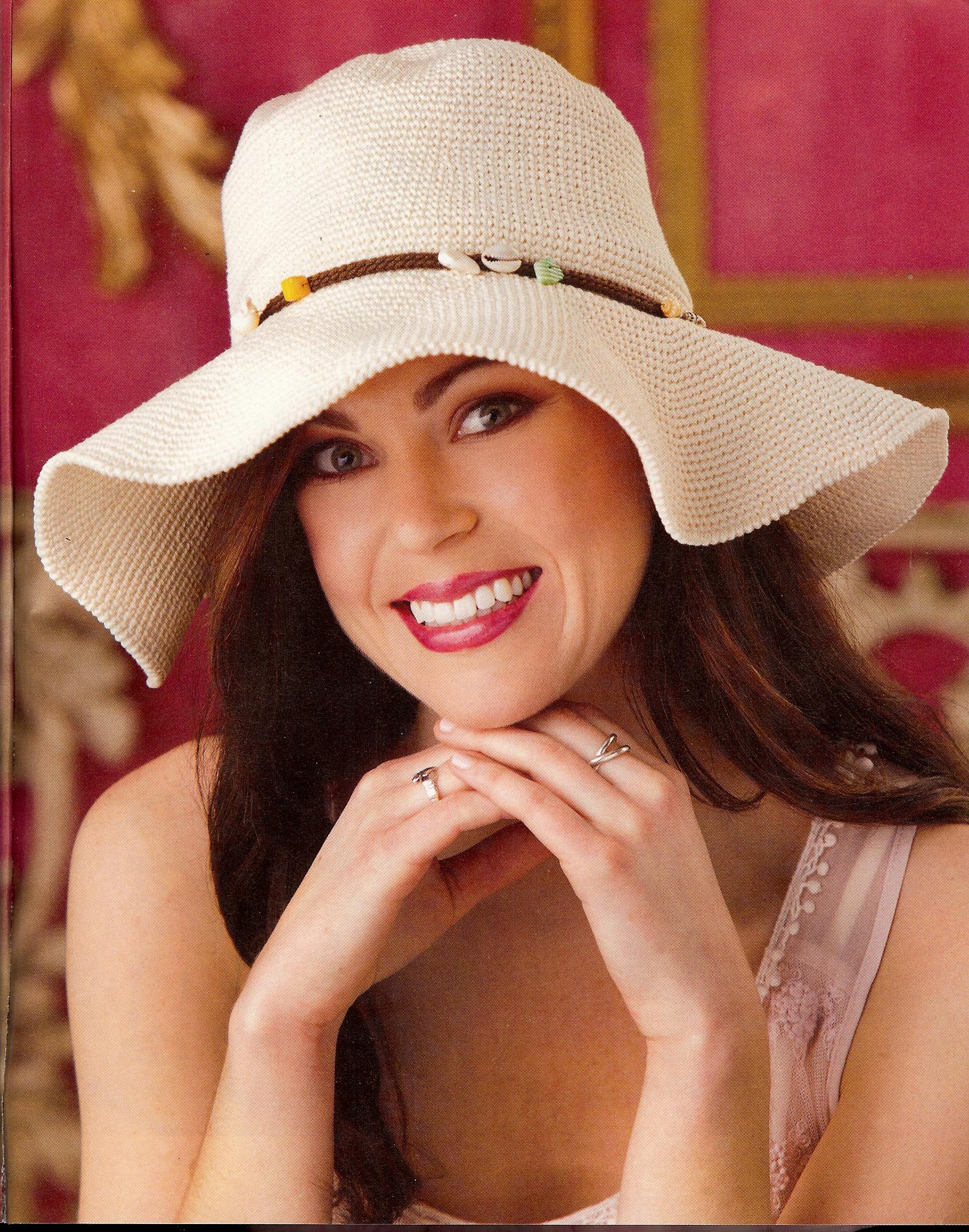 Sinfonia Hat summer 13 crochet