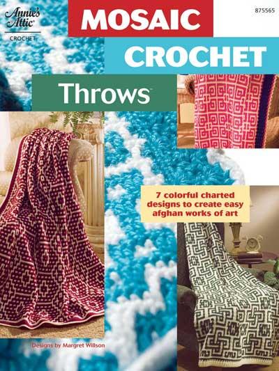 Mosaic Crochet Throws