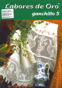 labores de oro Colchas Ganchillo 05