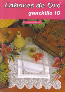 labores de oro Ganchillo 10