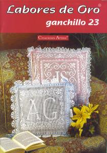 labores de oro Ganchillo 23