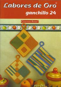 labores de oro Ganchillo 24